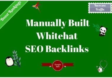 I will build high quality do-follow SEO backlinks link building google Top ranking