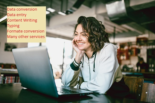 I am a professional in data entry,  data conversion,  formatting,  typing,  others