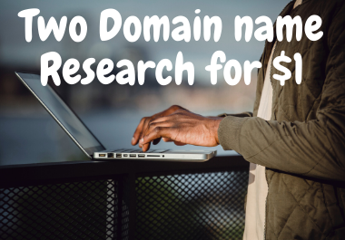 Unique and suitable domain name search