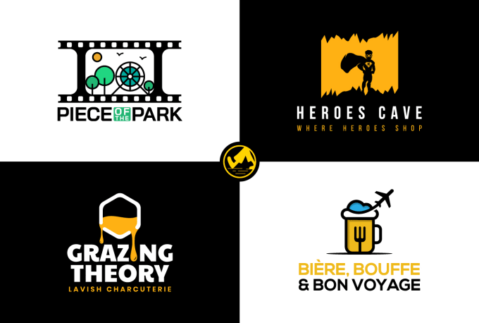 I will design modern and trendy logo for you