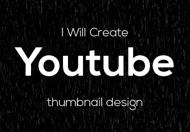 I will create unique youtube thumbnail for you