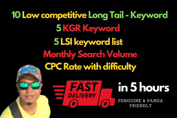 10 long tail low competitive keyword that ranks faster and bring tons of visitors