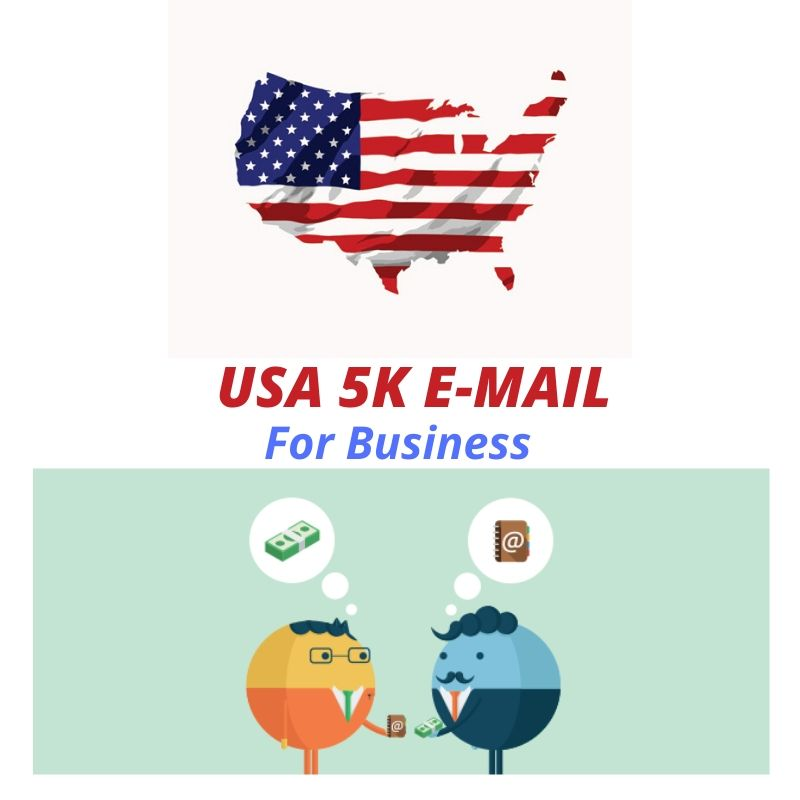 USA 5K E-mail for Marketing only for your Business