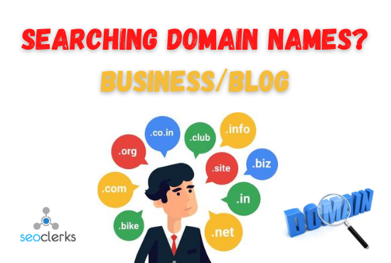 I will research best domain name for your business/blog