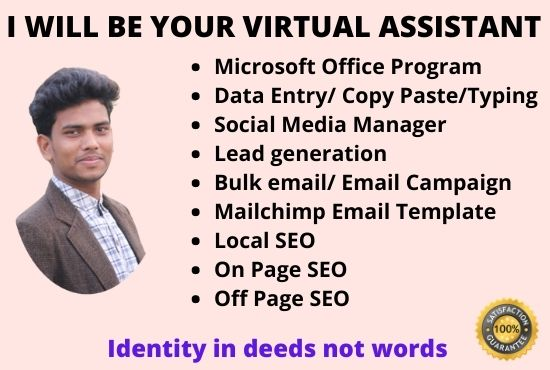 I will be your reliable personal virtual assistant.