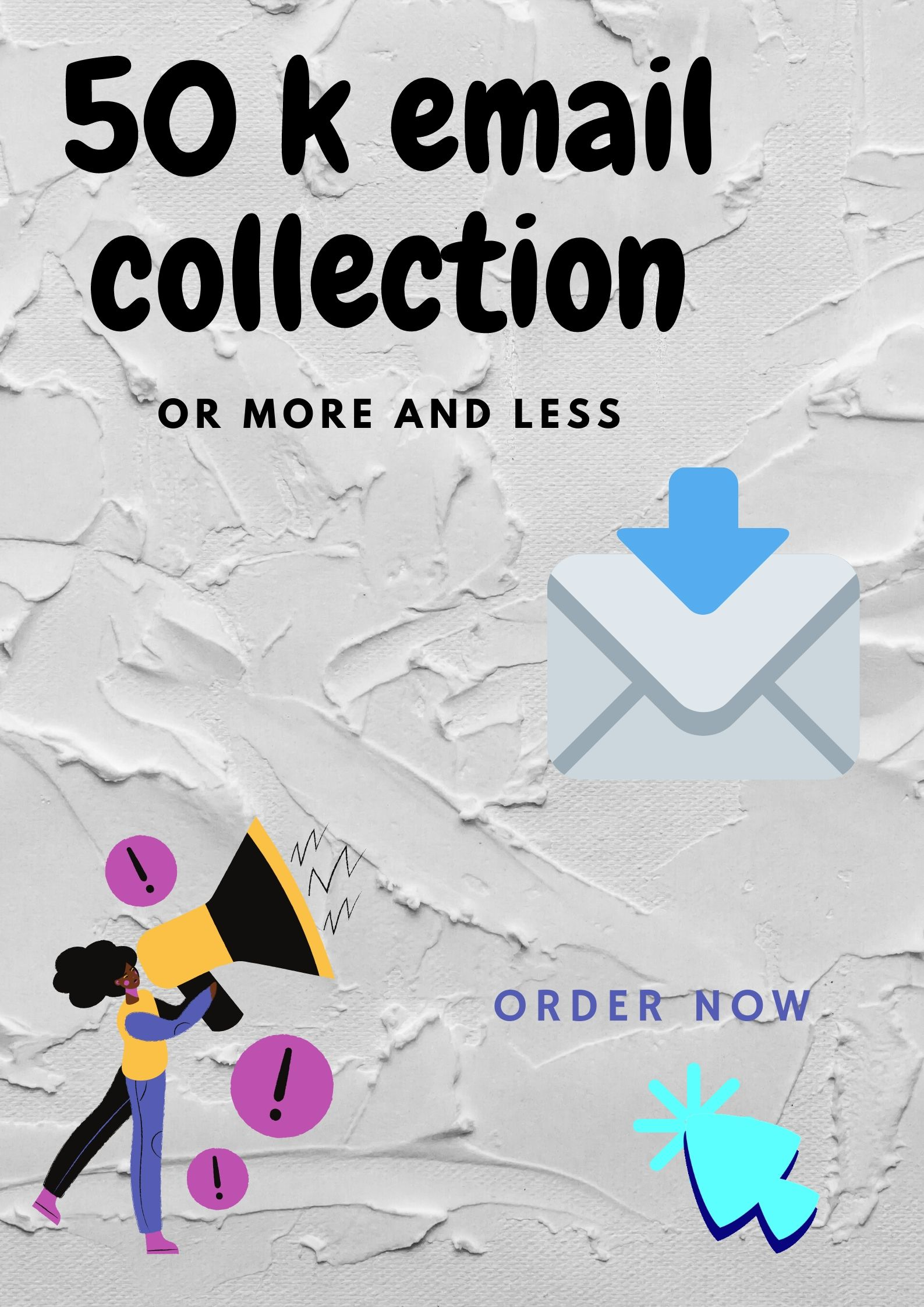 i will provide bulky email collection