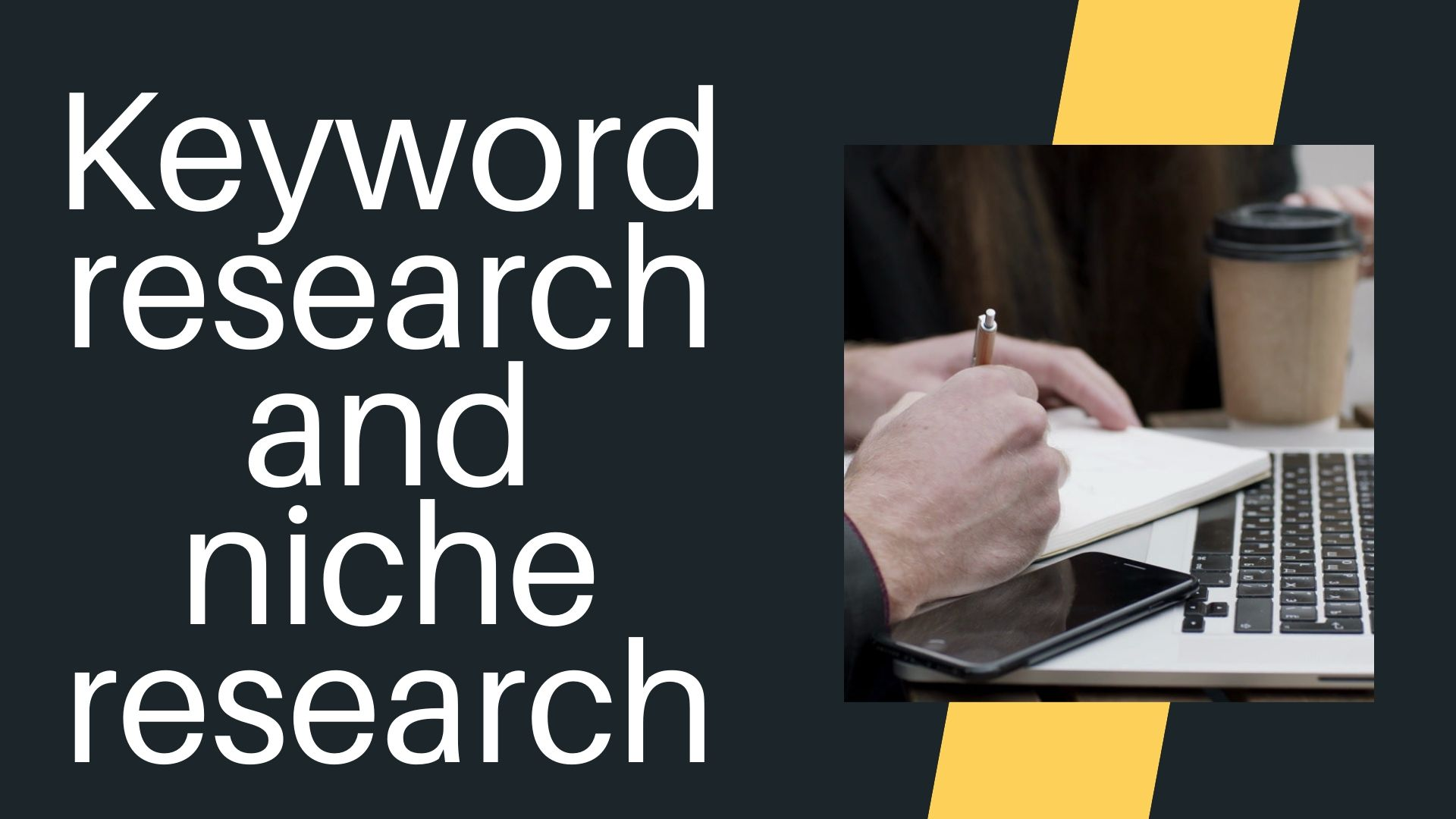 Best keyword research and niche research just 24 hours