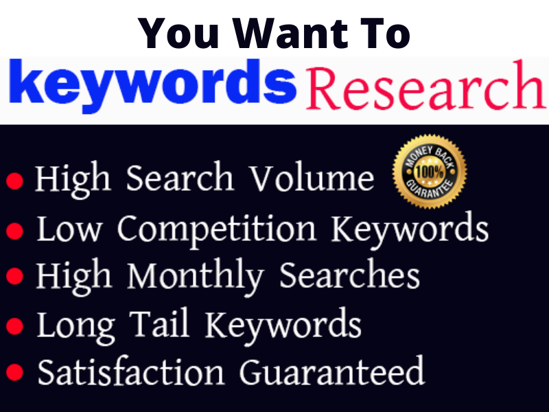 I will do excellent kgr keyword research for your niche