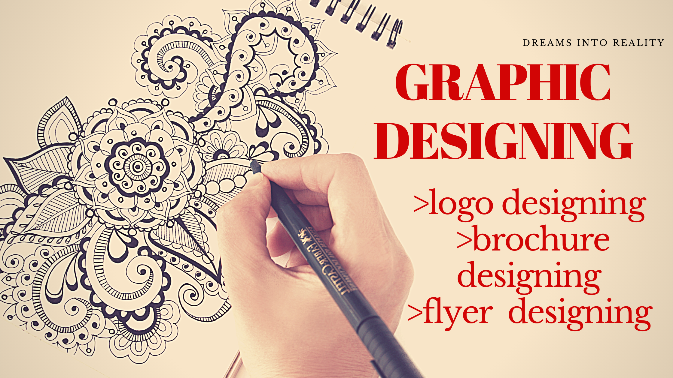 Graphic Designs with modern and classical Designs.