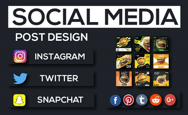 I will design awesome social media post