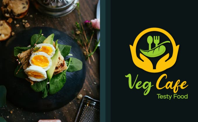 I will do amazing healthy food logo,cafe logo,restaurant logo or any design in 24 hours