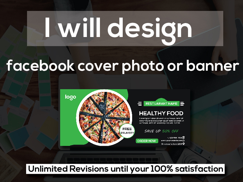 I will design a Facebook cover photo banner within 24 hours
