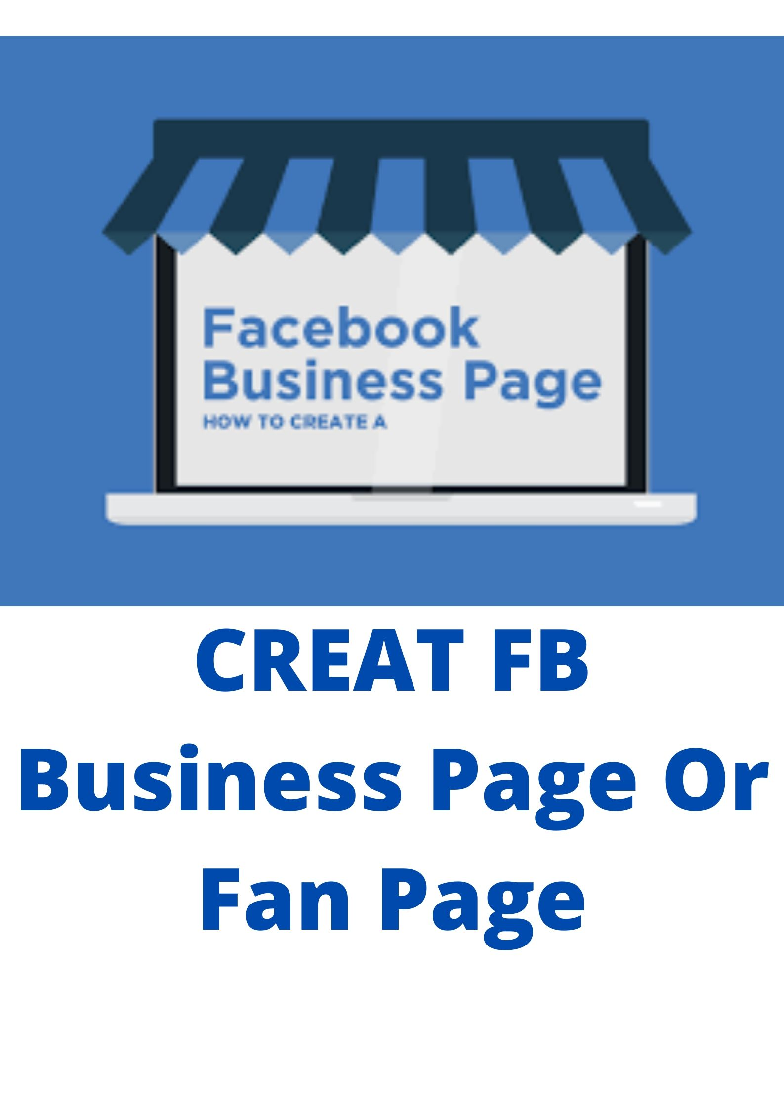 Create face book business page