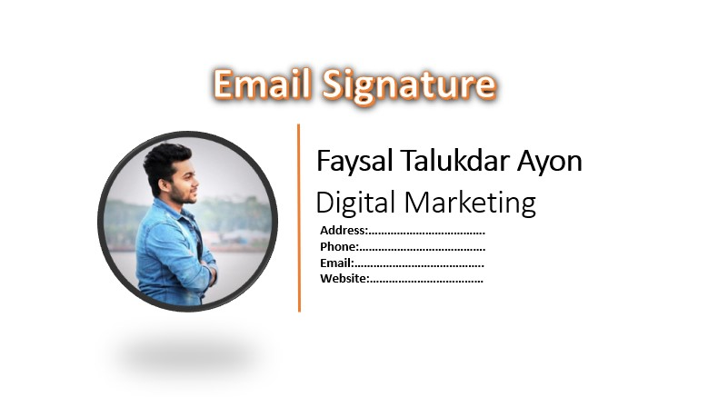 i will Design Clickable HTML Email Signature professionally