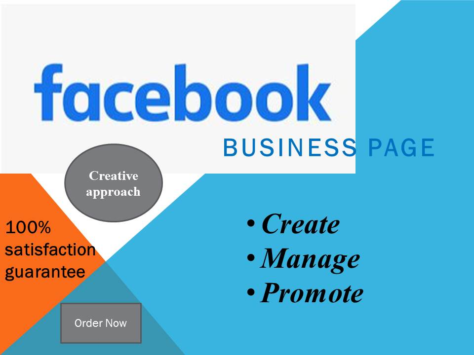 I will create,  manage,  and optimize your facebook business page