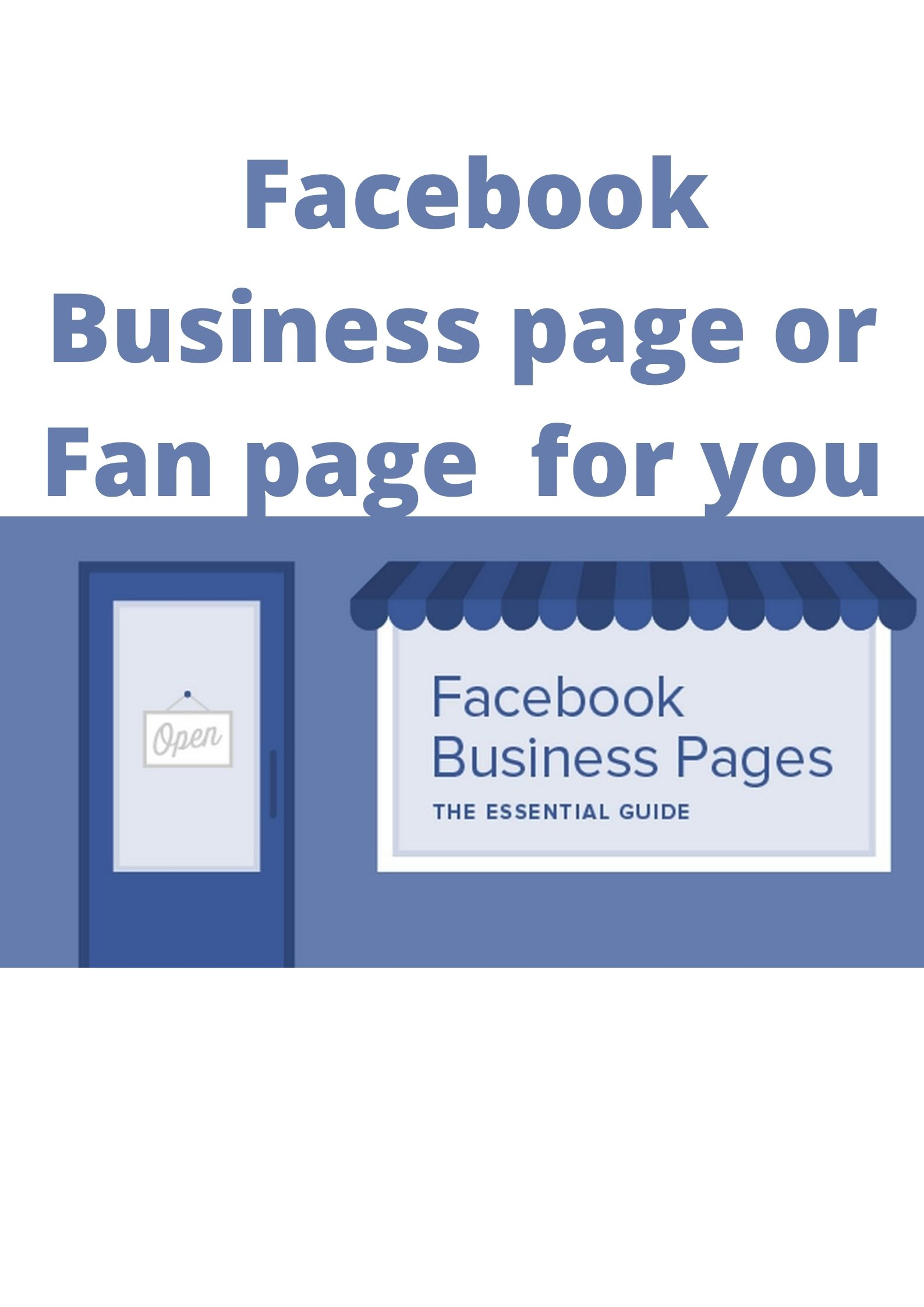 I will create Fb Business pages for your business