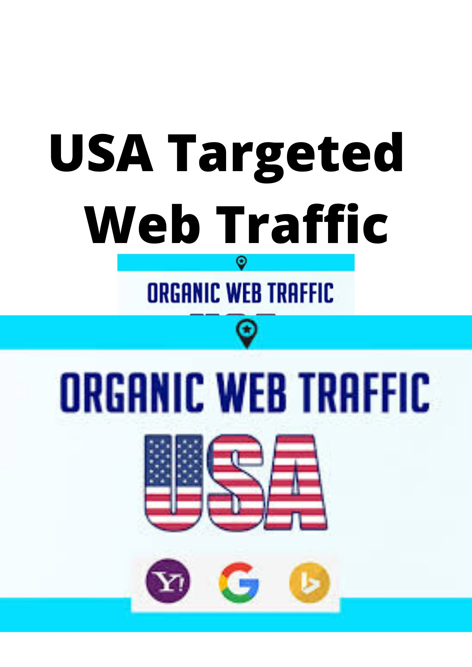 USA Targeted web traffic for your busiiness