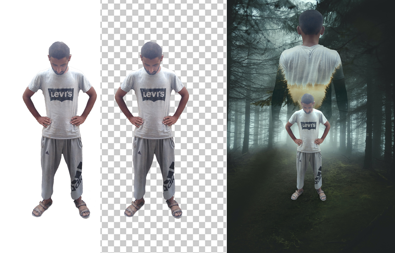 I will convert photos to a PNG file with transparent background