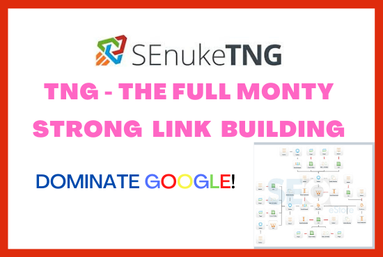 I will use senuke tng to create high da backlinks