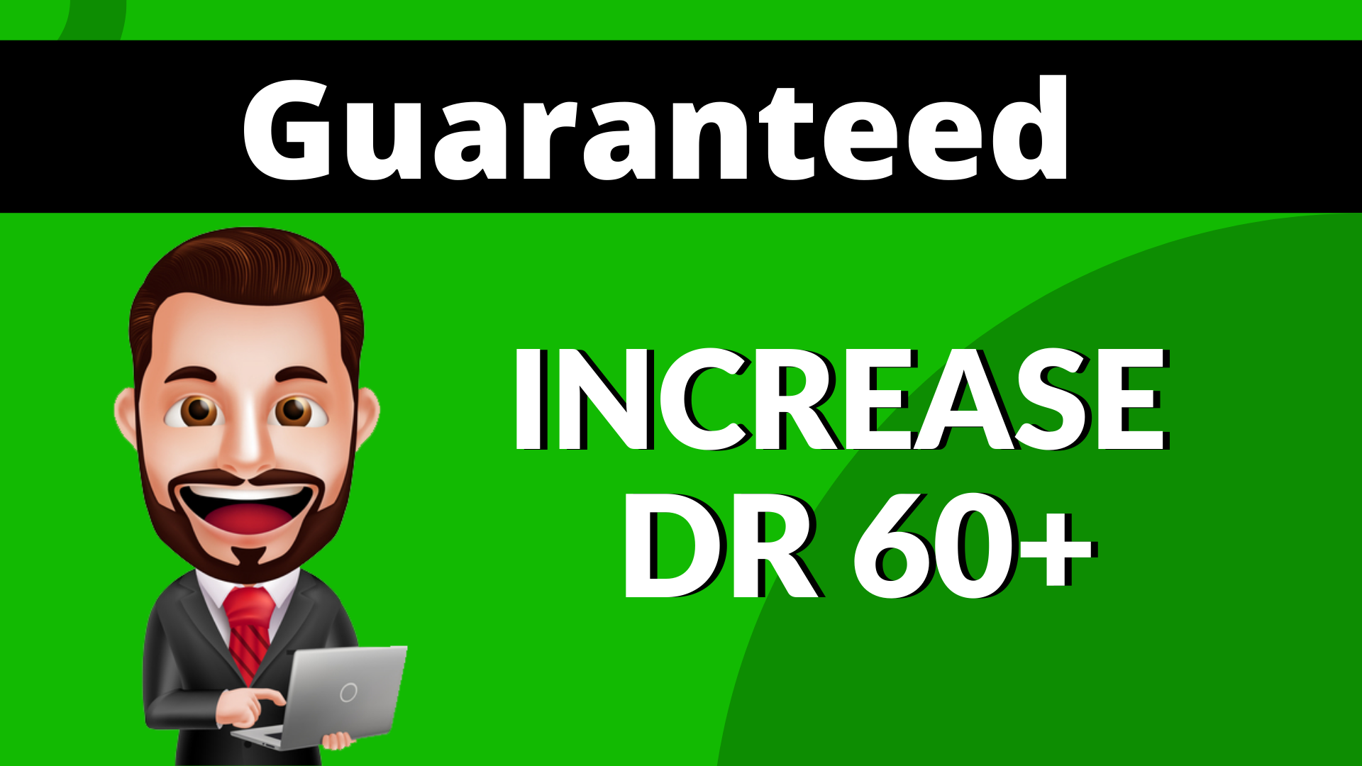 I will increase ahrefs domain rating dr 60 Plus