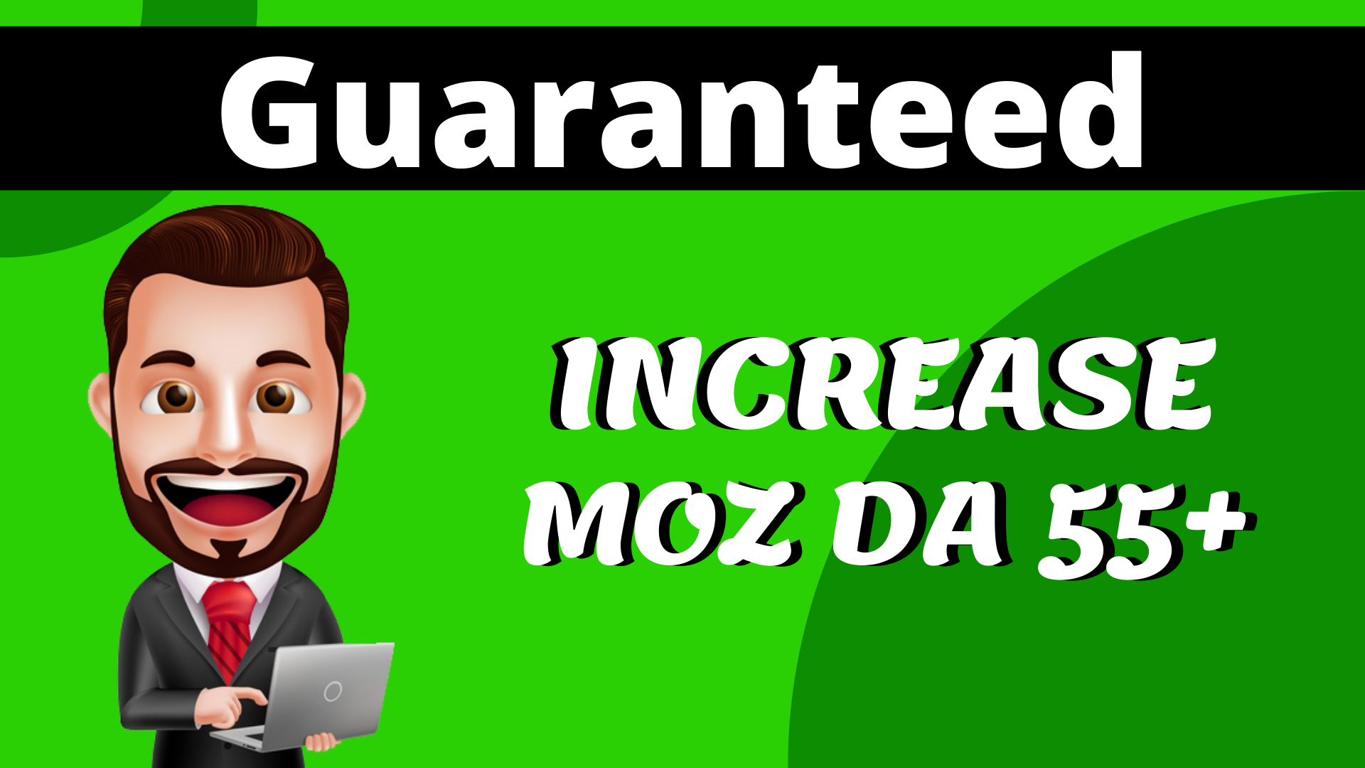 Increase MOZ Domain Authority DA 55 Plus