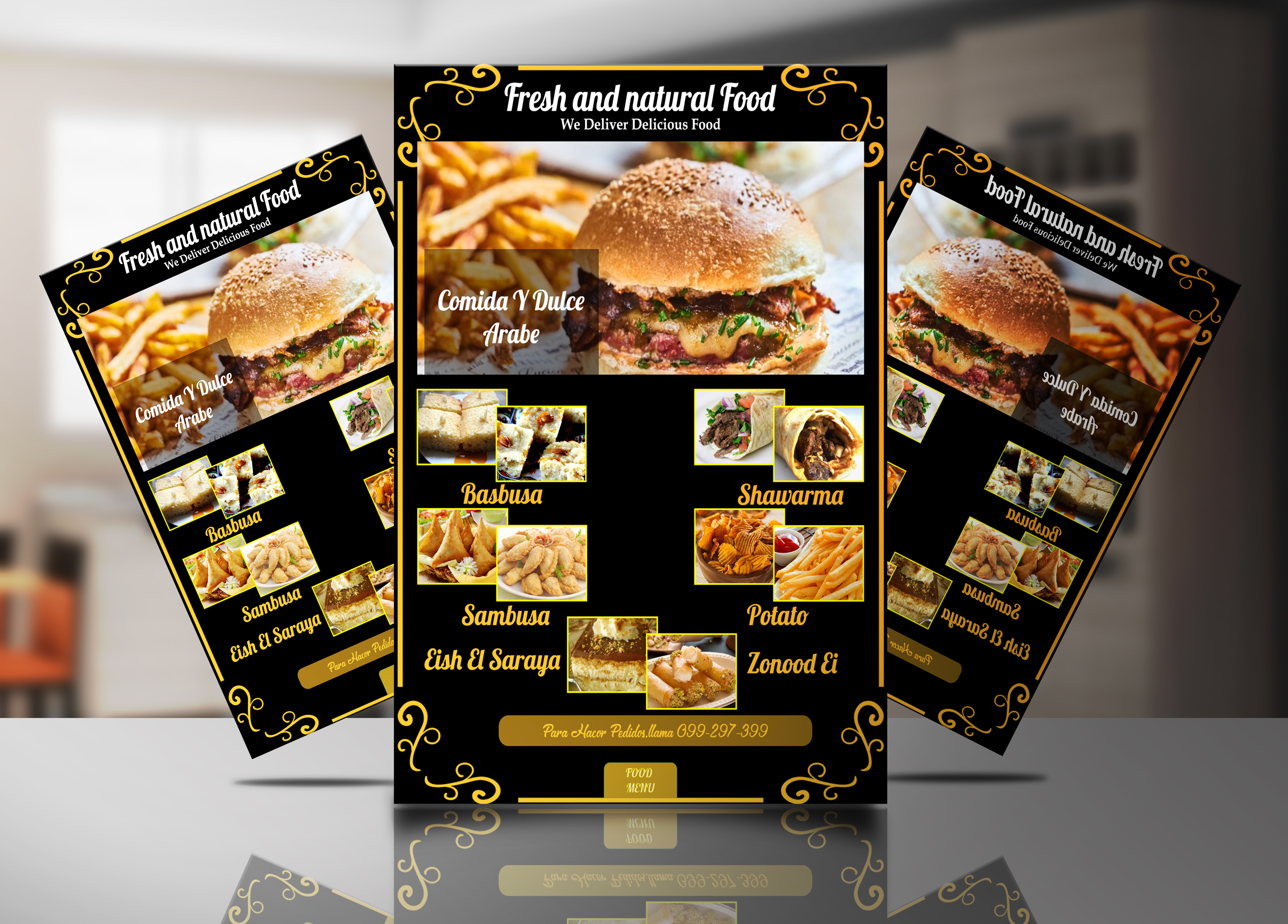 I will create beautiful flyers,posters,brochures and banner