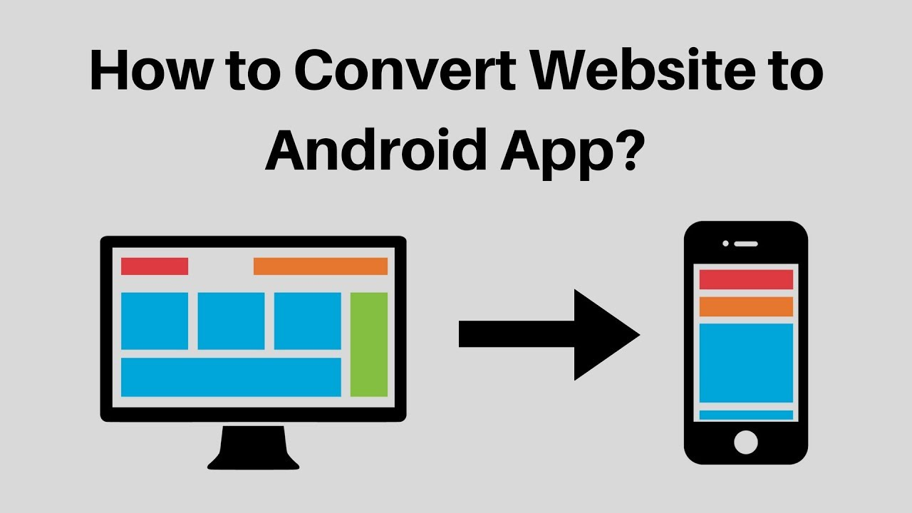 I will create mobile app for your website