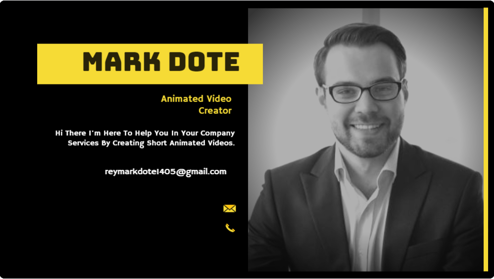 I will create an an animated video clip for your desired services