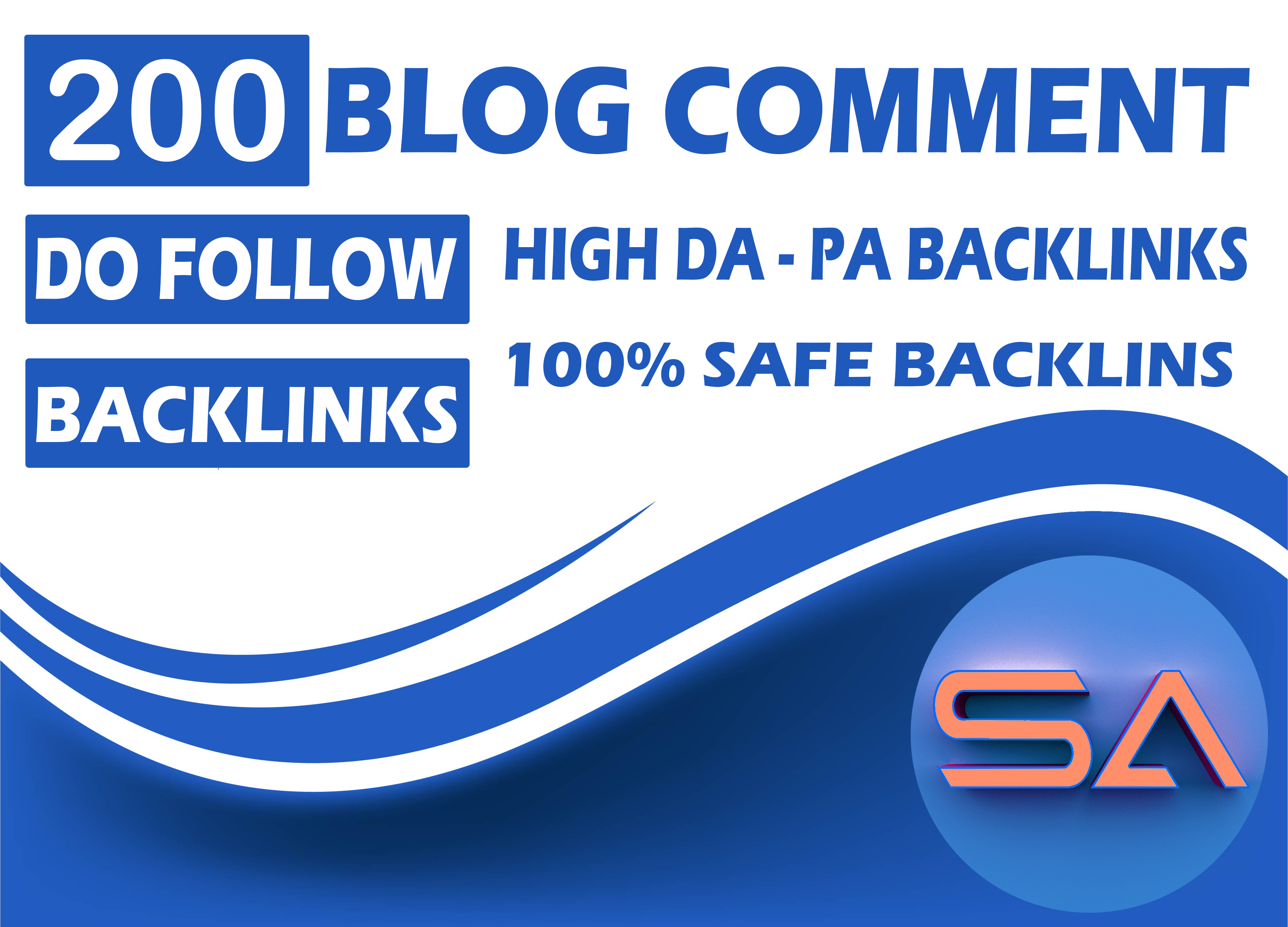 I Will Provide 200 Dofollow Blog Comments Backlinks With High DA PA