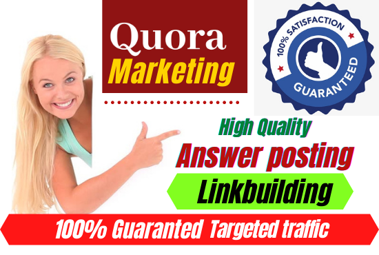 Boost your website with 20+ Quora Answer For Your Business, Website Targeted Traffic