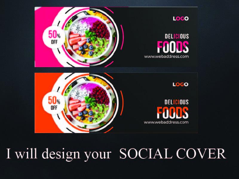 I will design your social media cover