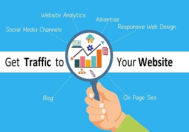 UNLIMITED and genuine website TRAFFIC