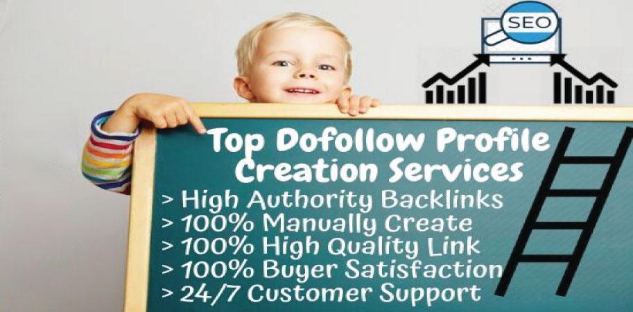 I will do 20 genuine dofollow profile creation backlinks