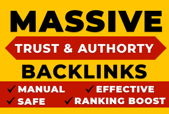 I will create 40 permanent backlinks thatboost your google ranking with high authority SEO backlinks