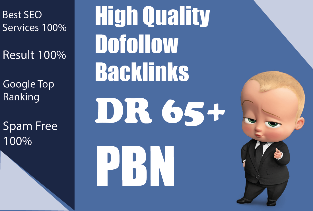 SEO Fosters - Build 10 DOFOLLOW DR50+ high authority PBN backlinks for Homepage