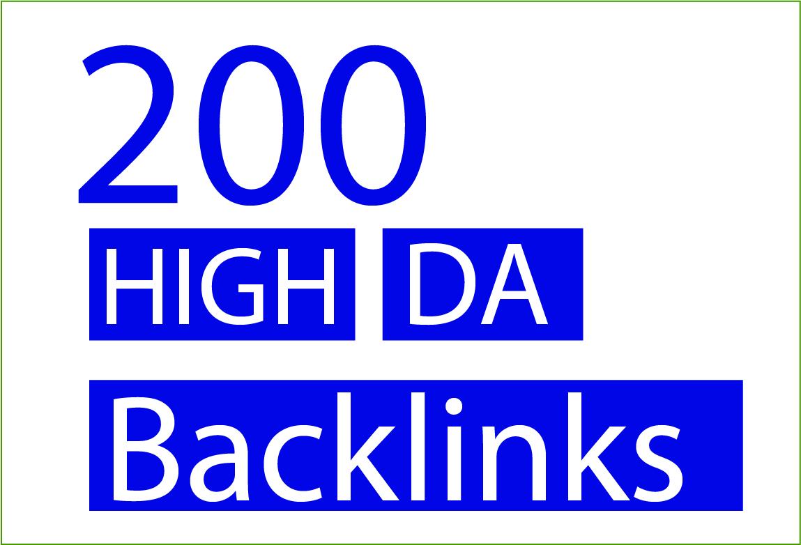 I will create 200 permanent high da dofollow PBN thai website like ufabet,  slots backlinks