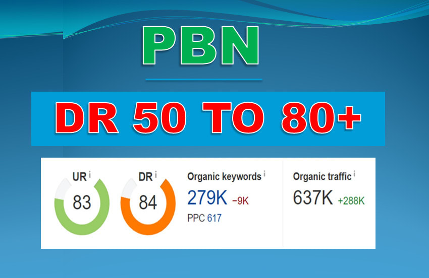 seo fosters build 50 High Quality DR 50 To 65 Dofollow Backlinks SEO Service