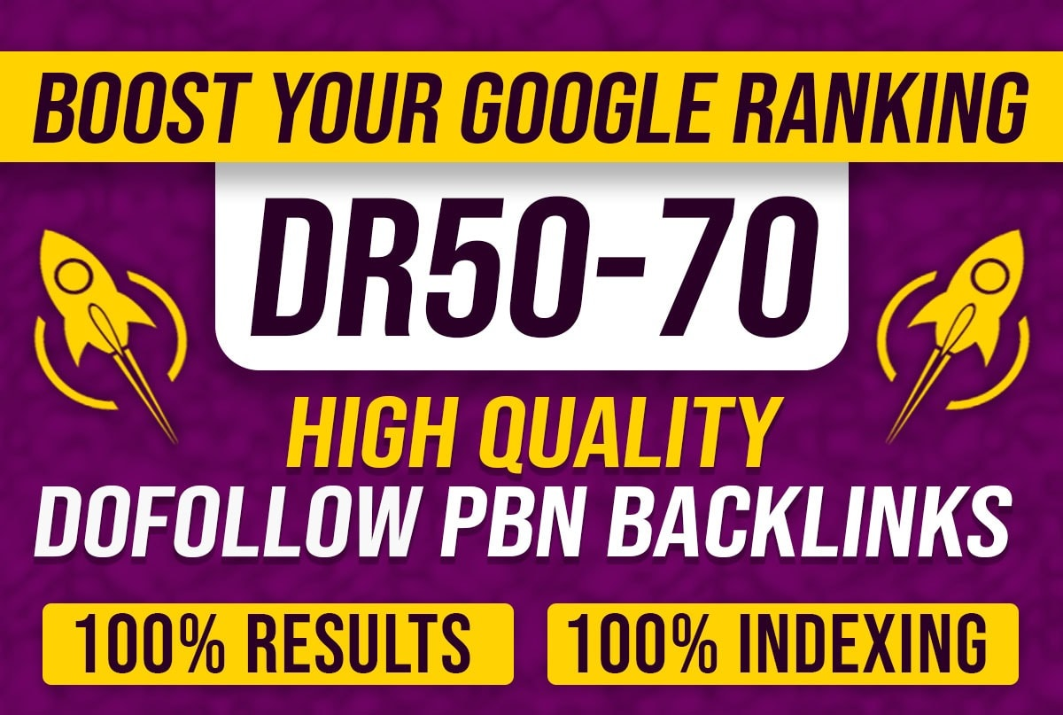 I will create 15 high DR 50 to 65 dofollow backlinks off page SEO