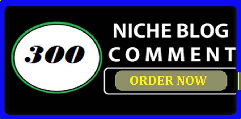 I will do create 300 niche related blog comments backlinks