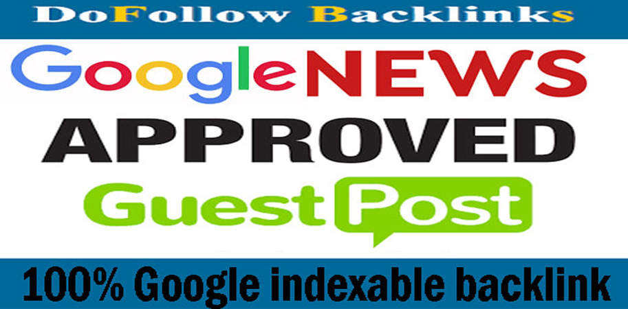 I will do provide high quality guest post on 60 plus site