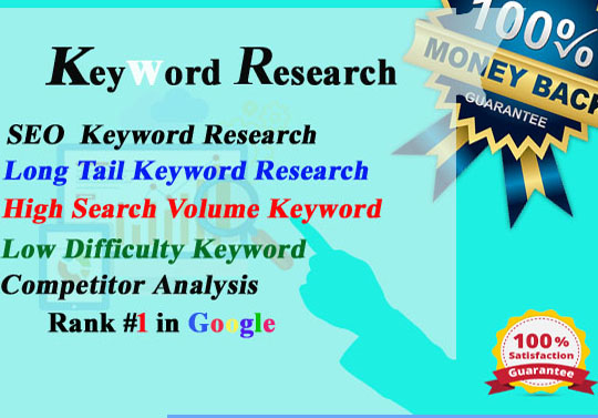 I will do seo keywoed research and competitor analysis