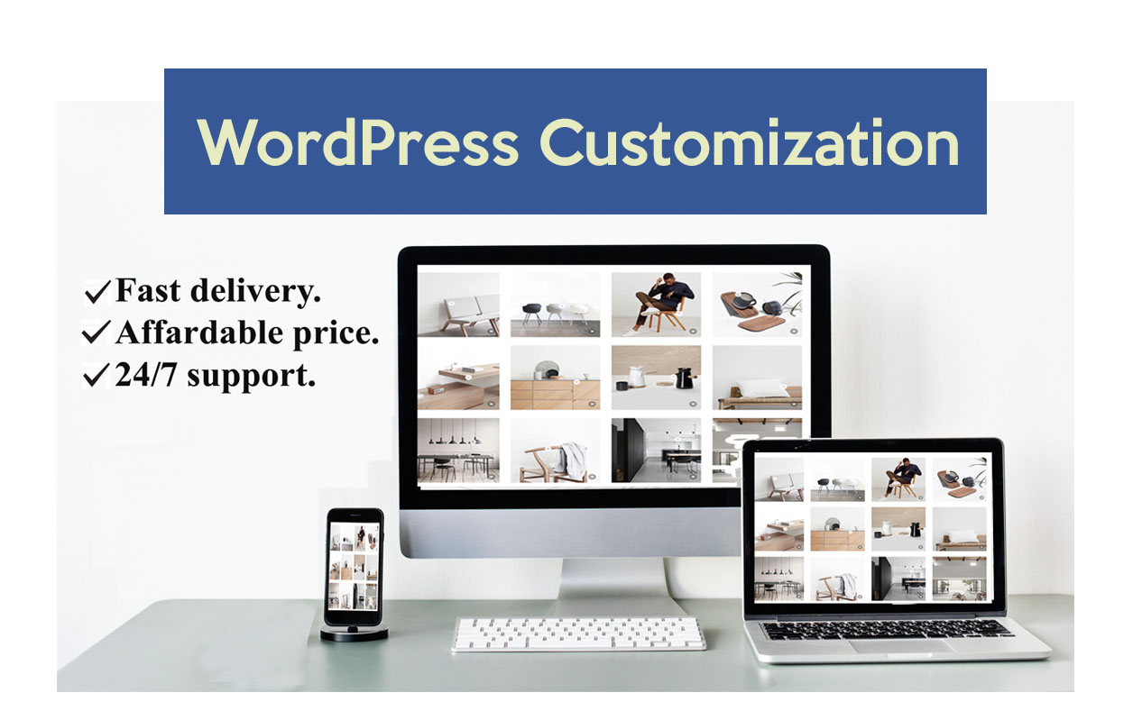 I will do wordpess customization and responsive design