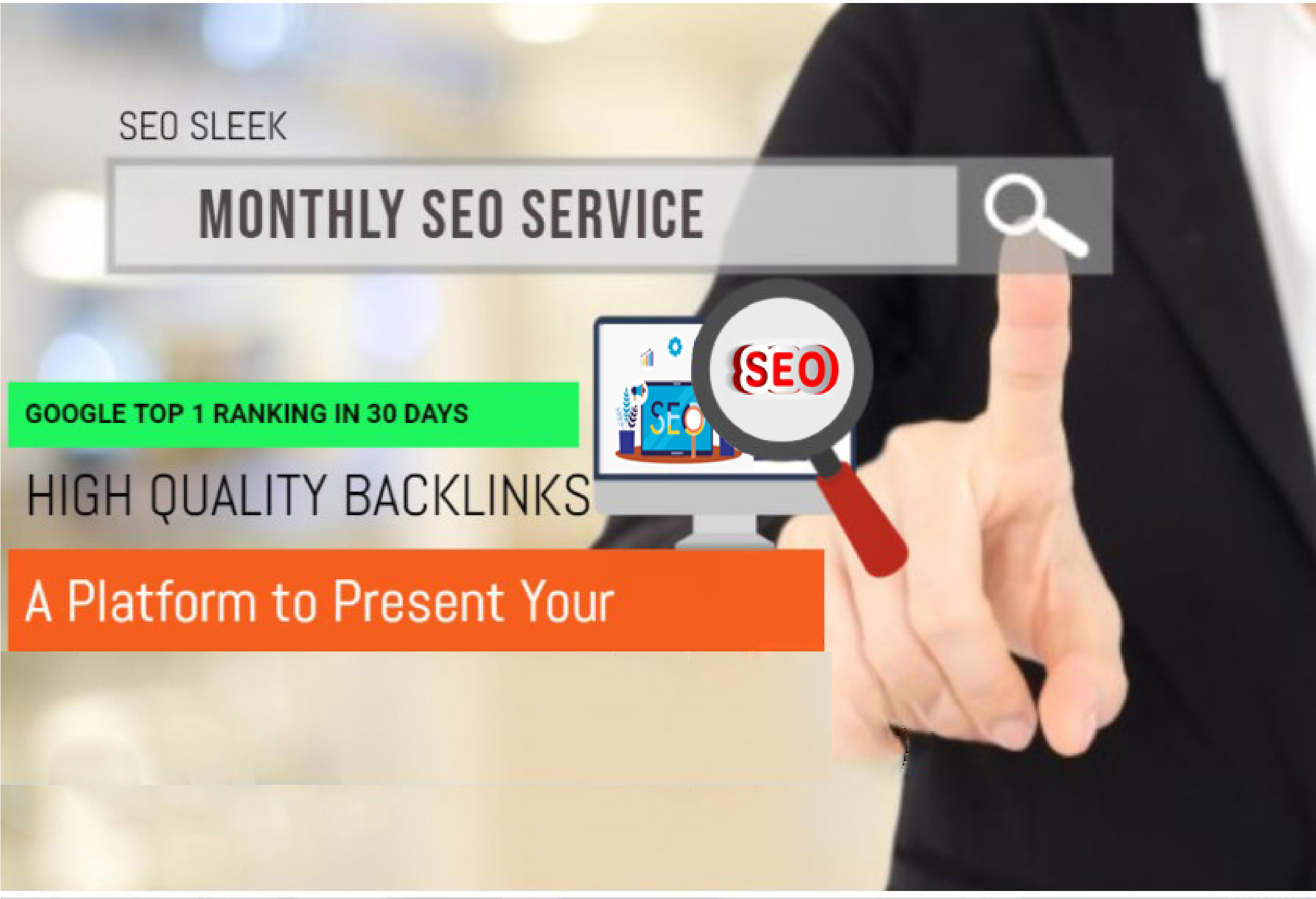 Complete seo service for website ranking