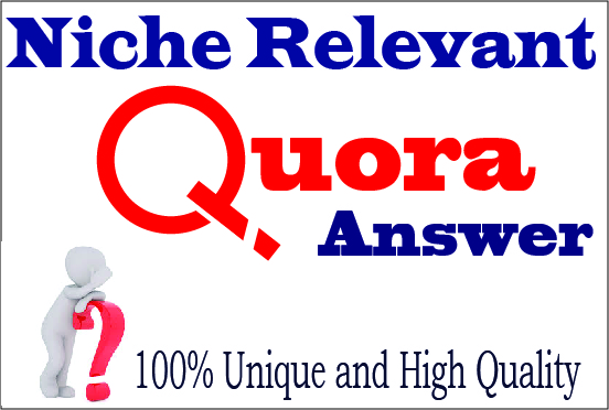 Promote your website with 50 HQ Quora Answers for targeted visitors