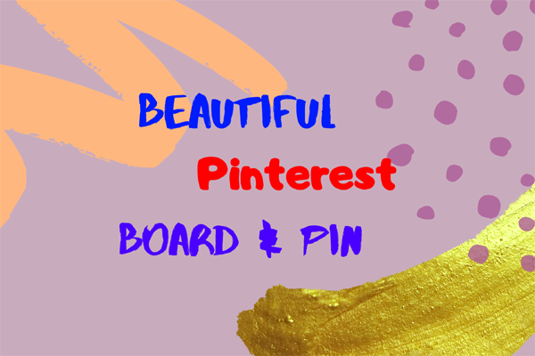 Provide Pinterest 2 board and 2 pin with targeted traffic