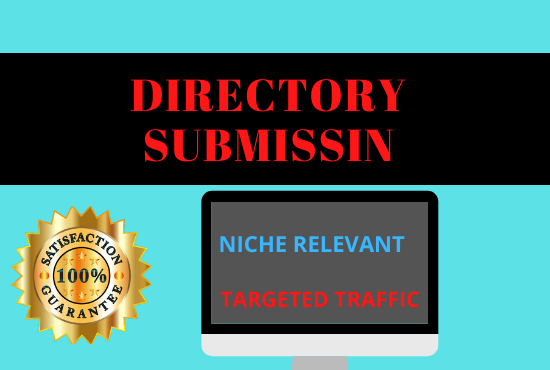 Offer 50 niche relevant directory submission manually for guaranteed traffic