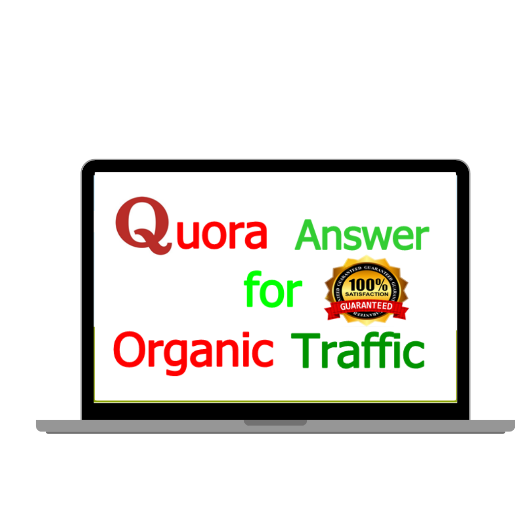 I will do niche relevant 14 High-Quality Quora Answers for Your website