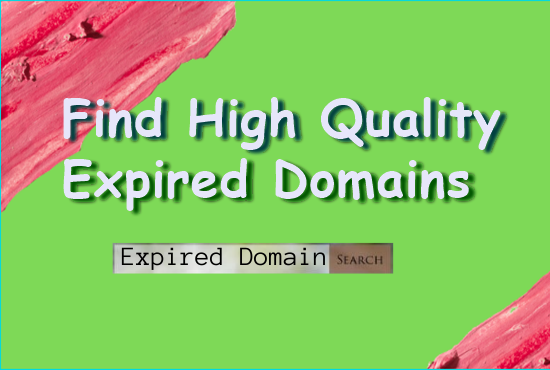 I will find niche relevant expired domain