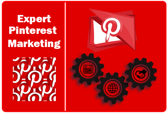 I will setup and optimize and do pinterest marketing,  pins and boards