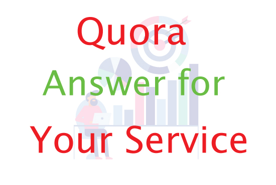 I will promote your product with 20 Quora Clickable Answer